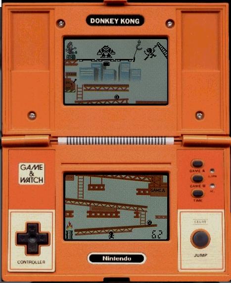 Donkey Kong game