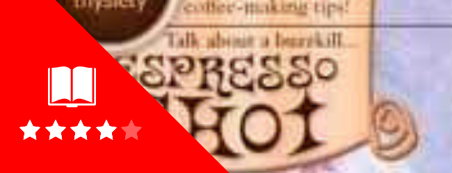 Espresso Shot book cover and rating