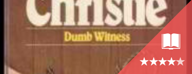 Dumb Witness book cover and rating